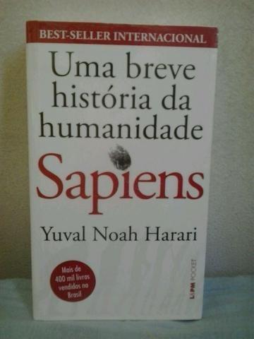 Livro Sapiens (pocket) (Novo)