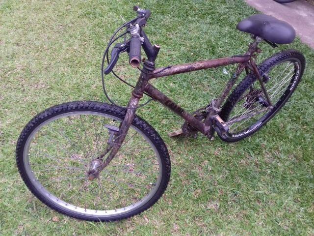 Bicicleta usada andando de boa! 3x sem juros no cartão - Foto 3