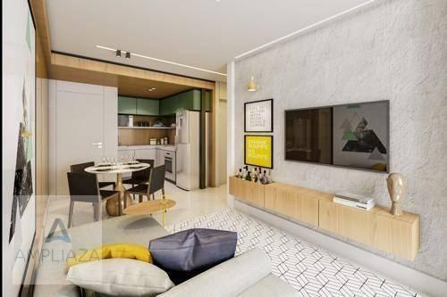 Apartamento com 2 dormitórios à venda, 37 m² por r$ 321.000 - aldeota - fortaleza/ce - Foto 16