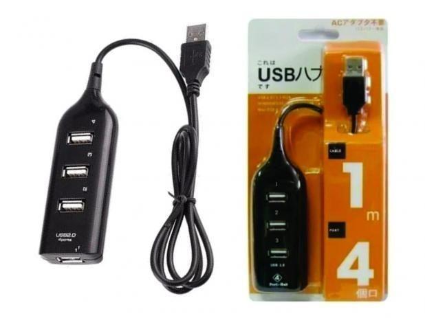 4-port USB 2.0 Hub - White