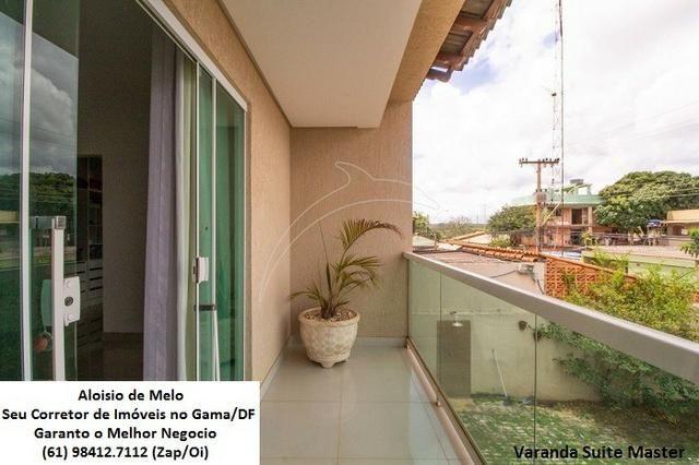 Aloisio Melo Vde: Q. 01 S/Leste! Sobrado, 2 Casas c/3 Quartos, Aceita Financ./FGTS - Foto 17