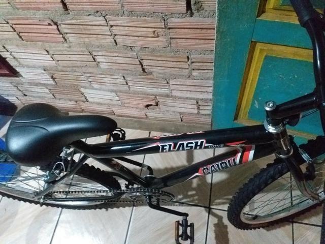 Vendo bicicleta nova aro 24 - Foto 4