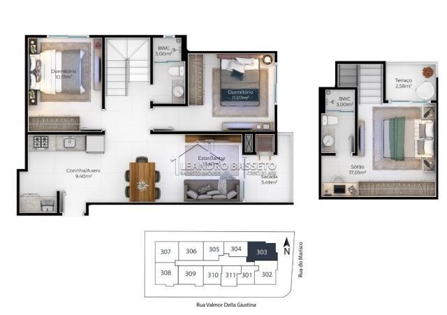 Apartamento à venda com 2 dormitórios em Ingleses, Florianópolis cod:1666 - Foto 6