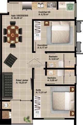 Apartamento à venda com 2 dormitórios em Ingleses, Florianópolis cod:1681 - Foto 3