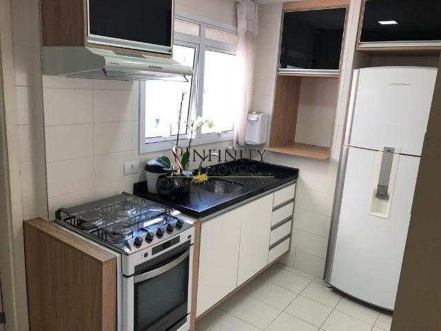 Apartamento 90 m², 2 suítes, sala estendida, varanda gourmet, 1 vaga, Aquárius - Foto 12