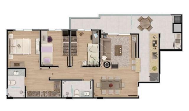 Apartamento à venda com 3 dormitórios em Novo mundo, Curitiba cod:1093 - Foto 3