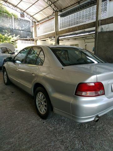 Vendo ou troco Mitsubishi galant 2.5 v6 completo - Foto 2