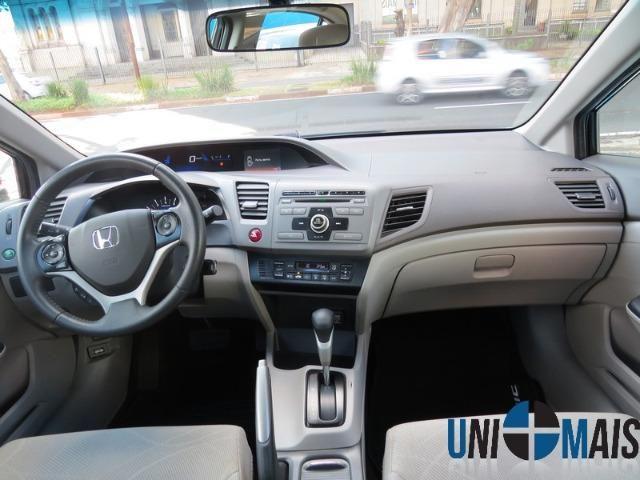 Honda Civic Automatico 2014 1.8 Lxs Completo Perfeito Estado Apenas 48.900 Lja - Foto 9
