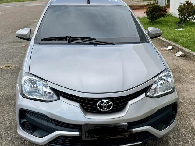 Toyota Etios, completo controle de som no volante, automático, multimídia, carro novo - Foto 2