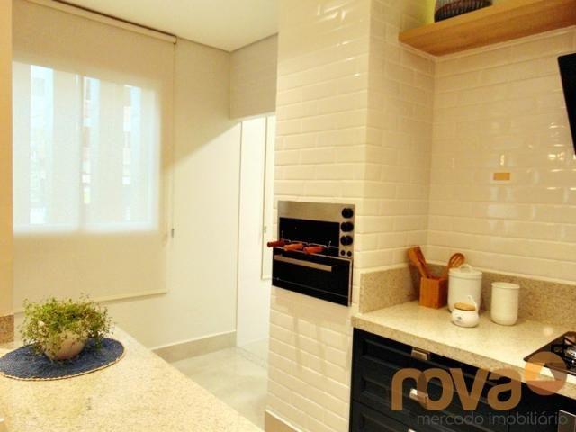 Apartamento à venda com 3 dormitórios em Setor marista, Goiânia cod:NOV235626 - Foto 3