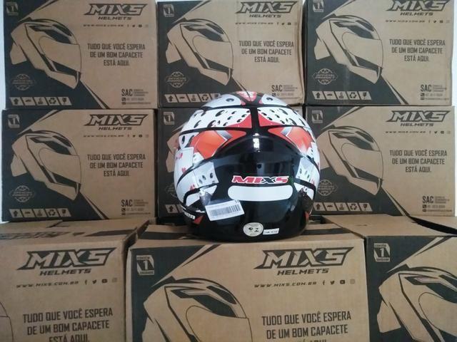 Capacete MIXs-Mega esportivo - Foto 4