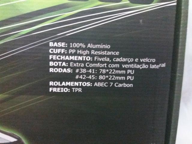 Roller B Xtreme 5000 - Bel Sports tamanho 42 - Foto 4