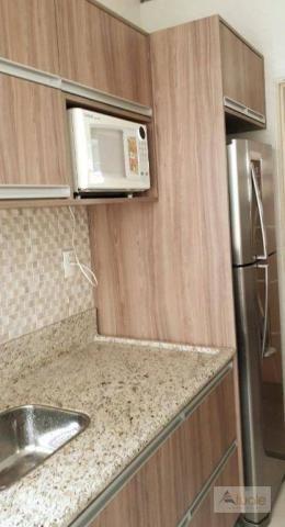 Apartamento com 3 dormitórios para alugar, 65 m² - parque euclides miranda - sumaré/sp - Foto 2