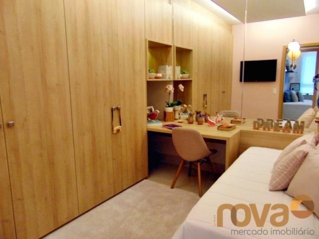 Apartamento à venda com 3 dormitórios em Setor marista, Goiânia cod:NOV235626 - Foto 9