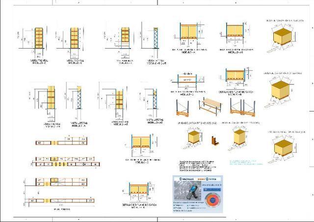 Estantes Porta Pallets Picking - Mecalux-Esmena