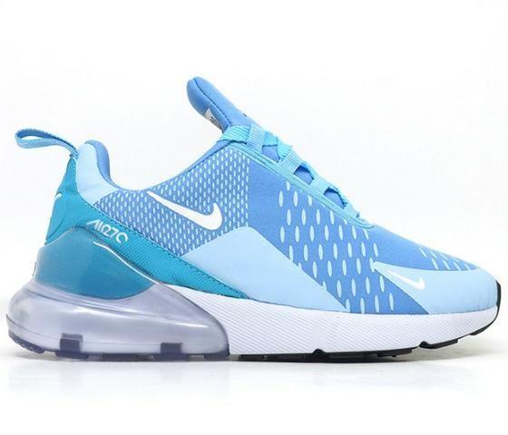 Tênis Feminino Nike Air Max 270 Azul Claro (importado) - Roupas e ... f15059b42f53b
