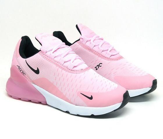 3b93ce3c64e28 Tênis Feminino Nike Air Max 270 Rosa (importado) - Roupas e calçados ...