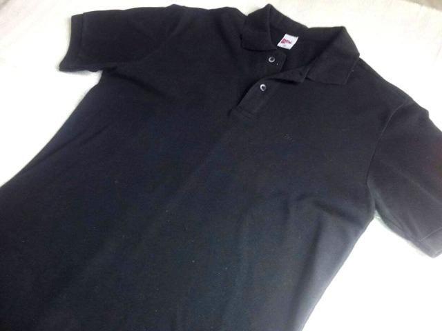 20f185fb81 Camisa Polo Preta- Marca Pool Original - Tamanho GG - Roupas e ...
