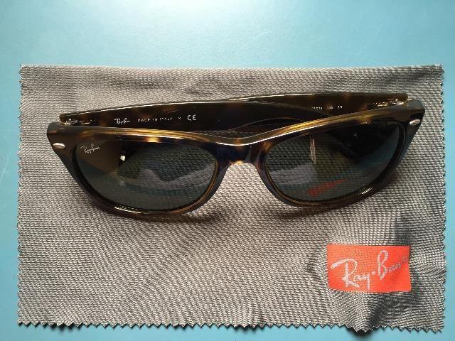 Óculos De Sol Rayban New Wayfarer RB2132 - Bijouterias, relógios e ... c2aeeb116b