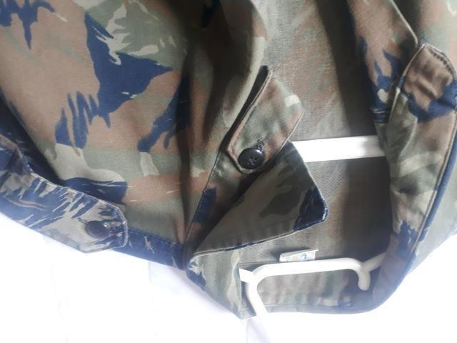Jaqueta (USADA) camuflada padrão aeronáutica - Foto 5