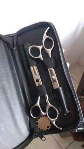 Kit tesoura Profissional R$ 100