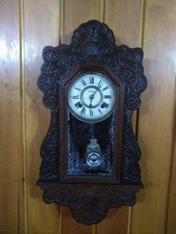 Relógio antigo 1914 funcionando !!!