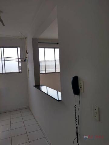 Apartamento com 2 dormitórios para alugar, 45 m² por R$ 650,00/mês - Residencial Ana Célia - Foto 16
