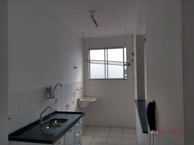 Apartamento com 2 dormitórios para alugar, 45 m² por R$ 650,00/mês - Residencial Ana Célia