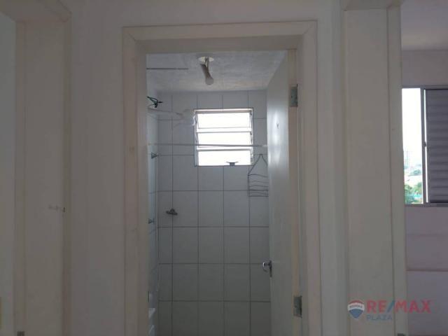 Apartamento com 2 dormitórios para alugar, 45 m² por R$ 650,00/mês - Residencial Ana Célia - Foto 5