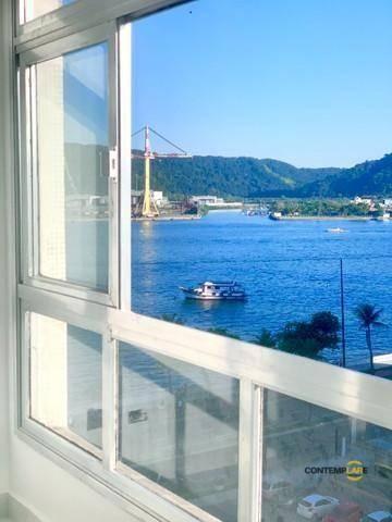 Apartamento com 3 dormitórios à venda, 98 m² por R$ 575.000,00 - Ponta da Praia - Santos/S - Foto 3