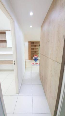 Apartamento com 3 dormitórios para alugar, 72 m² por R$ 1.595,94/ano - Neópolis - Natal/RN - Foto 5