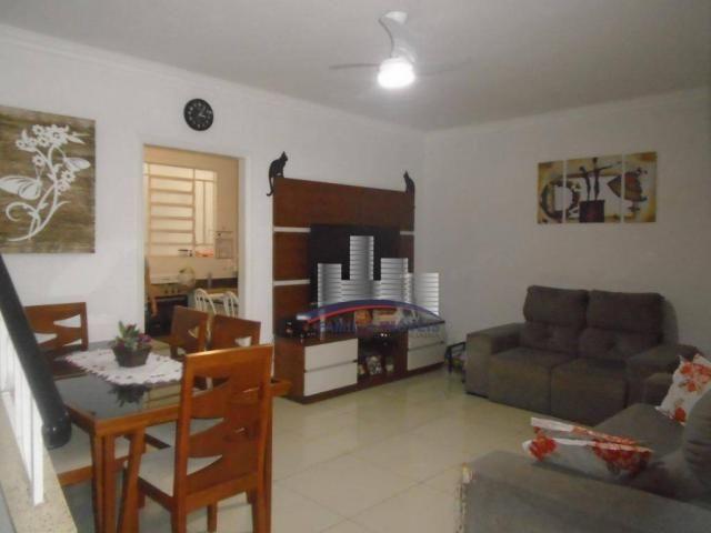 Sobrado com 3 dormitórios à venda por R$ 530.000,00 - Campo Grande - Santos/SP - Foto 2