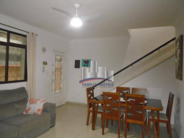 Sobrado com 3 dormitórios à venda por R$ 530.000,00 - Campo Grande - Santos/SP - Foto 7
