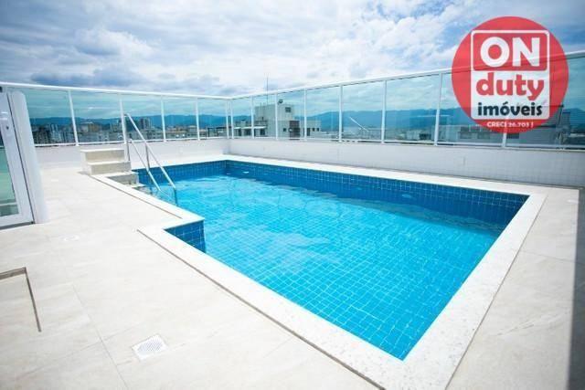 Apartamento Garden com 2 dormitórios à venda, 70 m² por R$ 475.000,00 - Aparecida - Santos