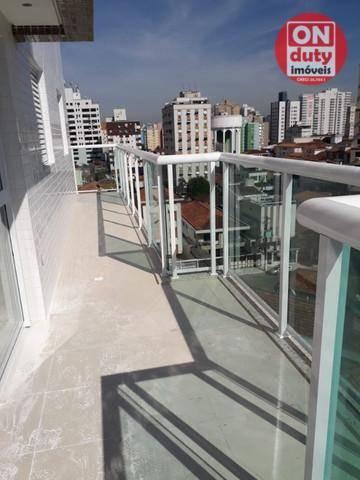 Apartamento Garden com 2 dormitórios à venda, 70 m² por R$ 475.000,00 - Aparecida - Santos - Foto 2
