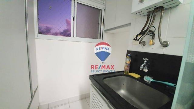 Apartamento com 3 dormitórios para alugar, 72 m² por R$ 1.595,94/ano - Neópolis - Natal/RN - Foto 14