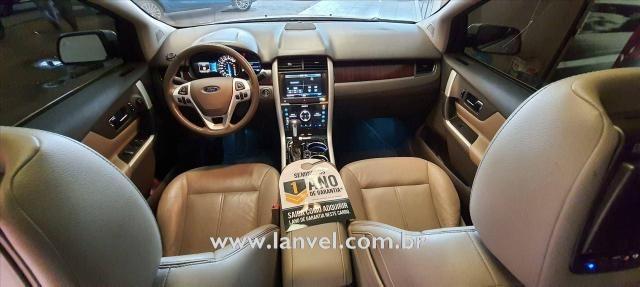 EDGE 2014/2014 3.5 LIMITED VISTAROOF AWD V6 24V GASOLINA 4P AUTOMÁTICO - Foto 13