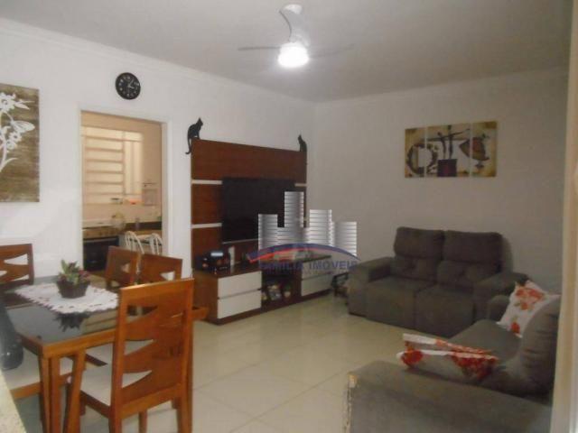Sobrado com 3 dormitórios à venda por R$ 530.000,00 - Campo Grande - Santos/SP