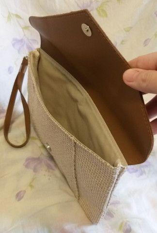 Bolsa de mão NOVA cluth - Foto 3