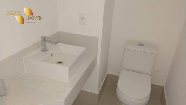 ED ROYAL PRESIDENT - Apartamento com 4 dormitórios à venda, 237 m² por R$ - Bosque - Cuiab - Foto 12