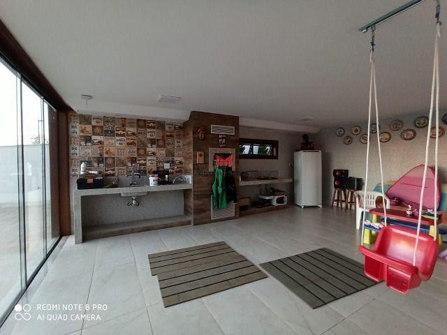 Exclusiva Casa moderna com 4 quartos sendo 3 suítes no Condomínio Alphaville Vespasiano - Foto 16