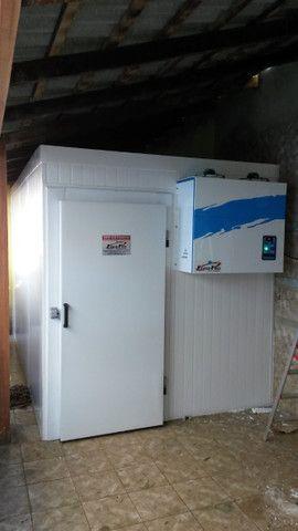 Camara fria para congelados e resfriados