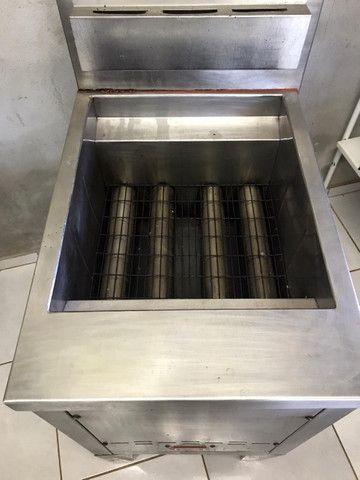 Fritadeira Venâncio 70 litros, tipo Indústrial, Água e Óleo - Foto 2