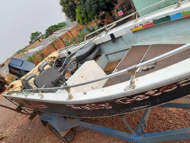 Vendo barco Marajó 16 pés.. - Foto 3