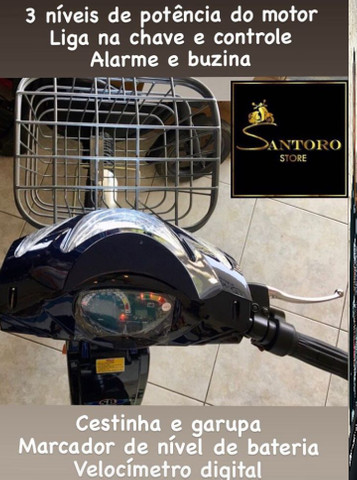 Bicicleta Elétrica parcelamos sem juros - Foto 3