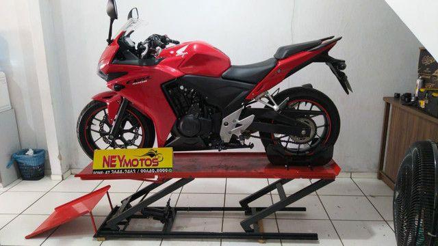 Elevador de motos de  fabrica 350 kg - zap 24horas deixe seu número  - Foto 5