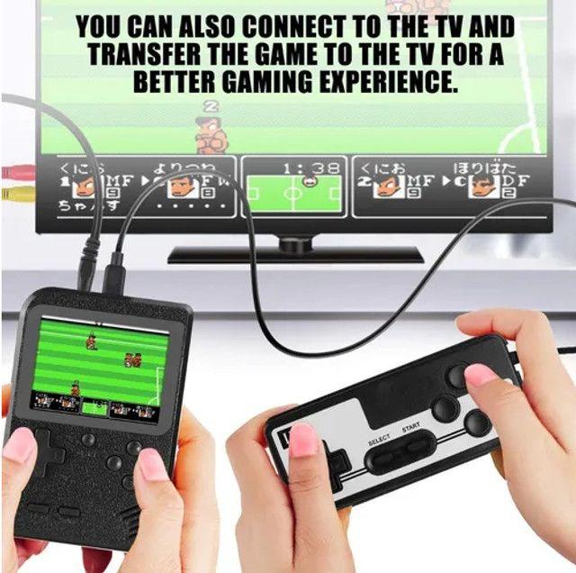 Mini Game Portátil Retro 400 Jogos Super Console + Controle - Foto 5