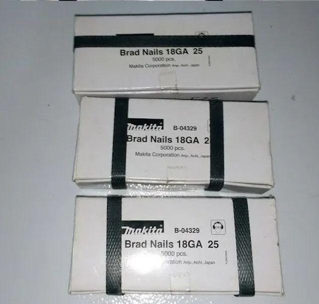 Pinos 18ga para Pinador Makita original, caixas com 5000 unidades - Foto 4