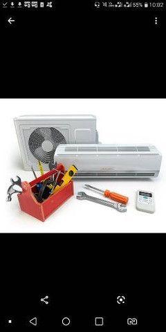 Manutençao de ar condicionado, geladeira, freezer - Foto 3