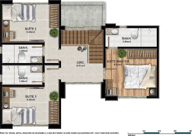 Casa 3 suítes dentro de condomínio em Maricá - Lançamento ! - Foto 19